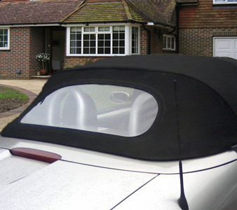 Chystal Clear Convertible  Rear Window